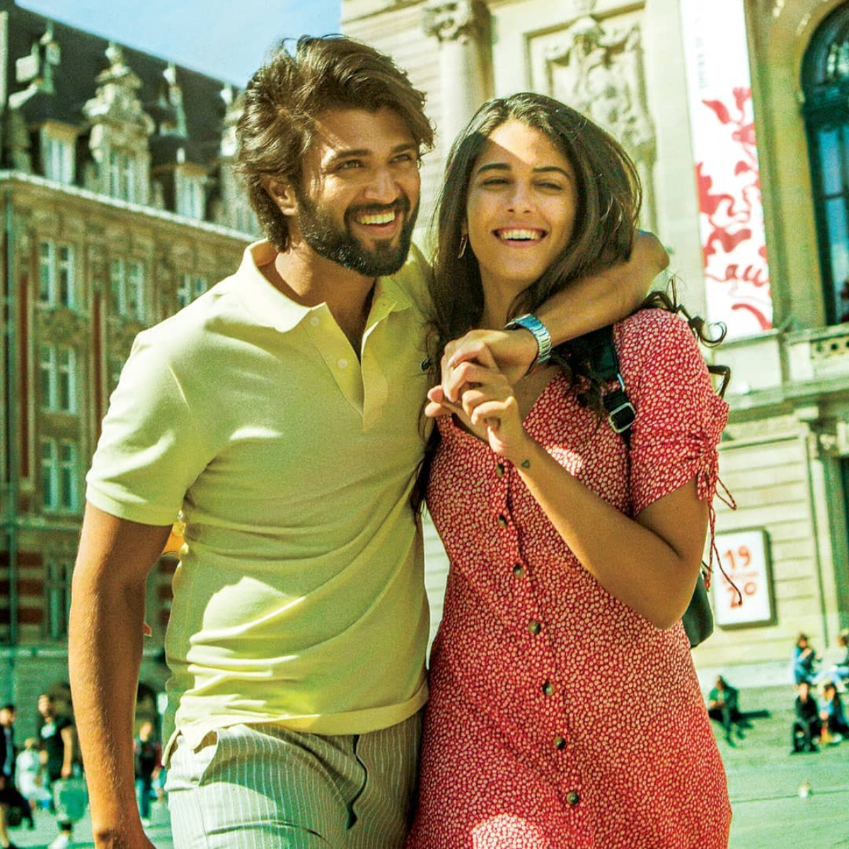 World Famous Lover Poster: Vijay Deverakonda introduces Izabelle Leite in an adorable way; Check it out