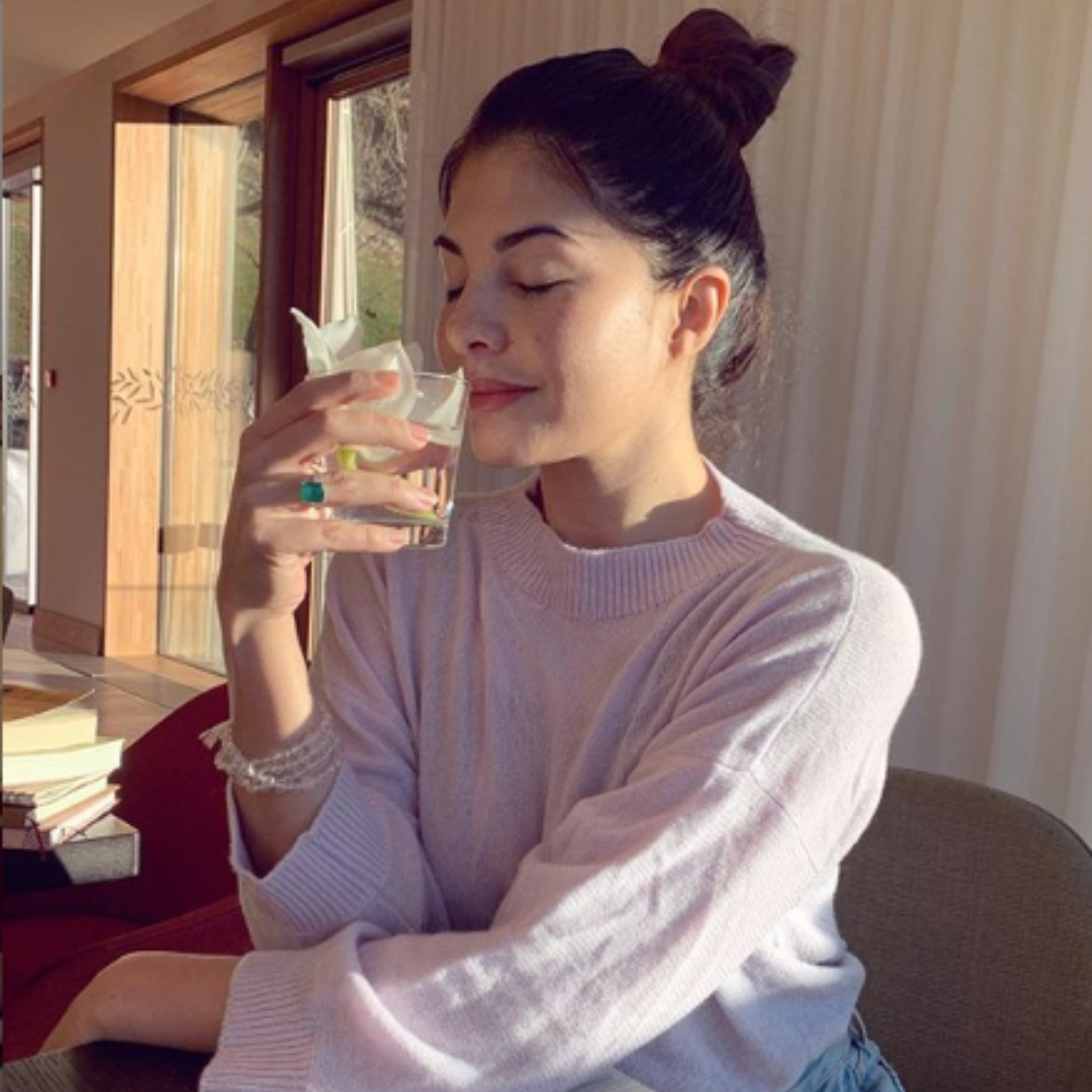 PHOTOS: Jacqueline Fernandez indulging in self care at her residence is all of us