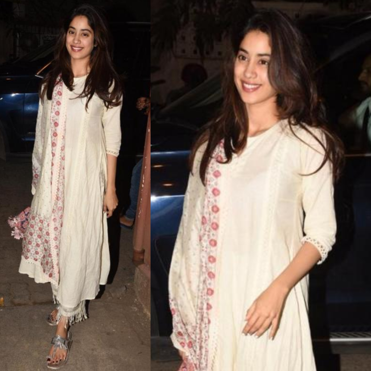 Janhvi Kapoor picks out yet another desi outfit with a floral touch: Yay or Nay?