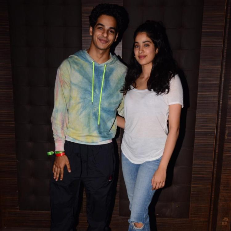 Janhvi Kapoor is all hearts as Ishaan Khatter starts a 'new journey' with Mira Nair's A Suitable Boy