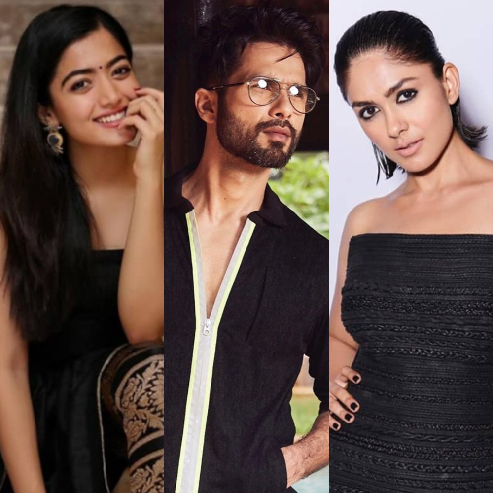 EXCLUSIVE: After Rashmika Madanna opts out of Shahid Kapoor's Jersey remake, makers approach Mrunal Thakur