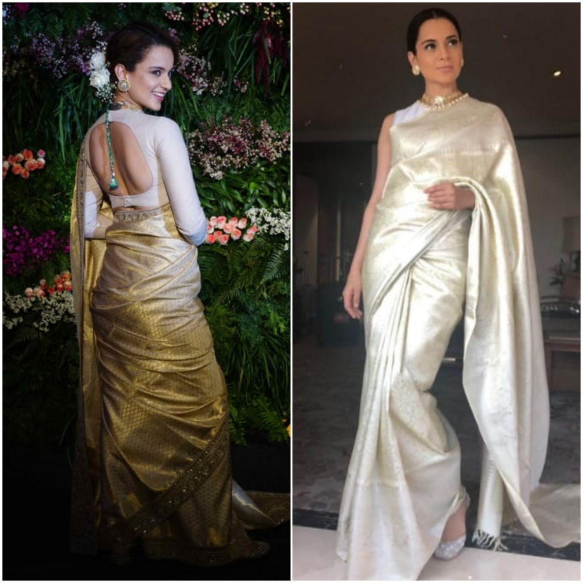 Kangana Ranaut shows how to style your saree in 7 different ways this National Handloom Day | PINKVILLA