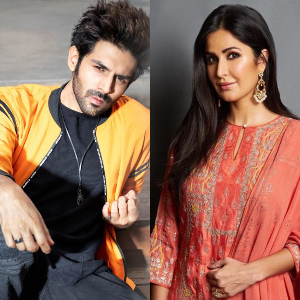 Are Kartik Aaryan and Katrina Kaif the new buddies in B-town? Deets Inside