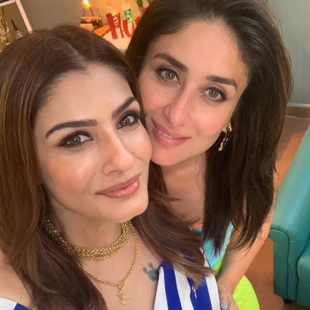 Kareena Kapoor Khan 'doesn't cease to wow' Raveena Tandon as she pens a heartfelt note for Bebo; Check it out