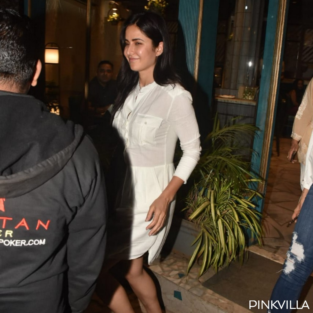 PHOTOS: Katrina Kaif opts for a no makeup look as she steps out in the city in all white casuals