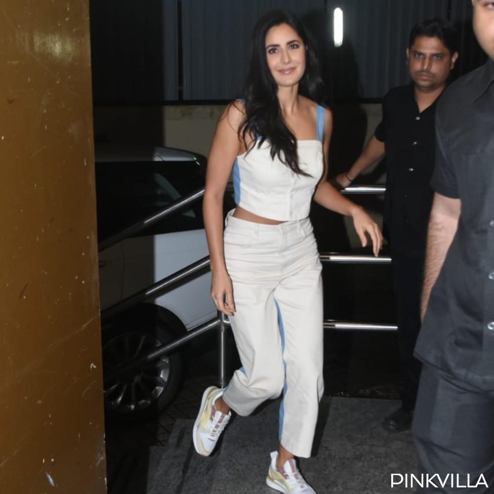 PHOTOS: Katrina Kaif keeps it comfy and cool as she arrives at the screening of The Zoya Factor