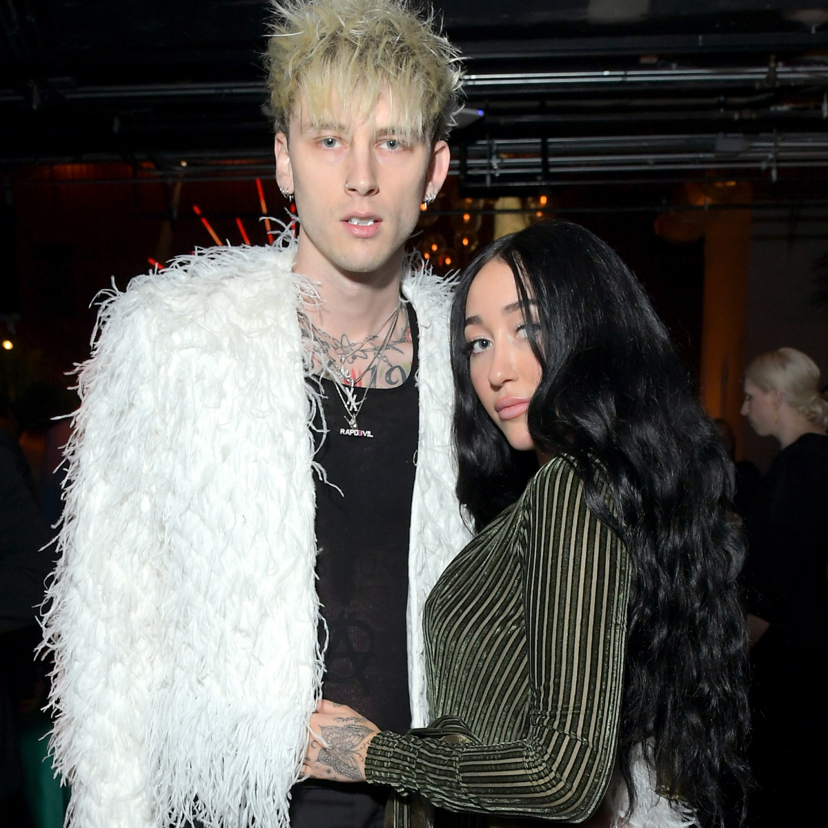 Machine Gun Kelly Spotted Hitting Up Grammys After Party With Miley Cyrus Sister Noah Cyrus Details Inside Pinkvilla