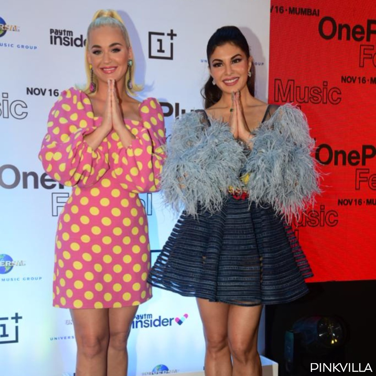PHOTOS: International singer Katy Perry is in Mumbai; Attends an event with Jacqueline Fernandez