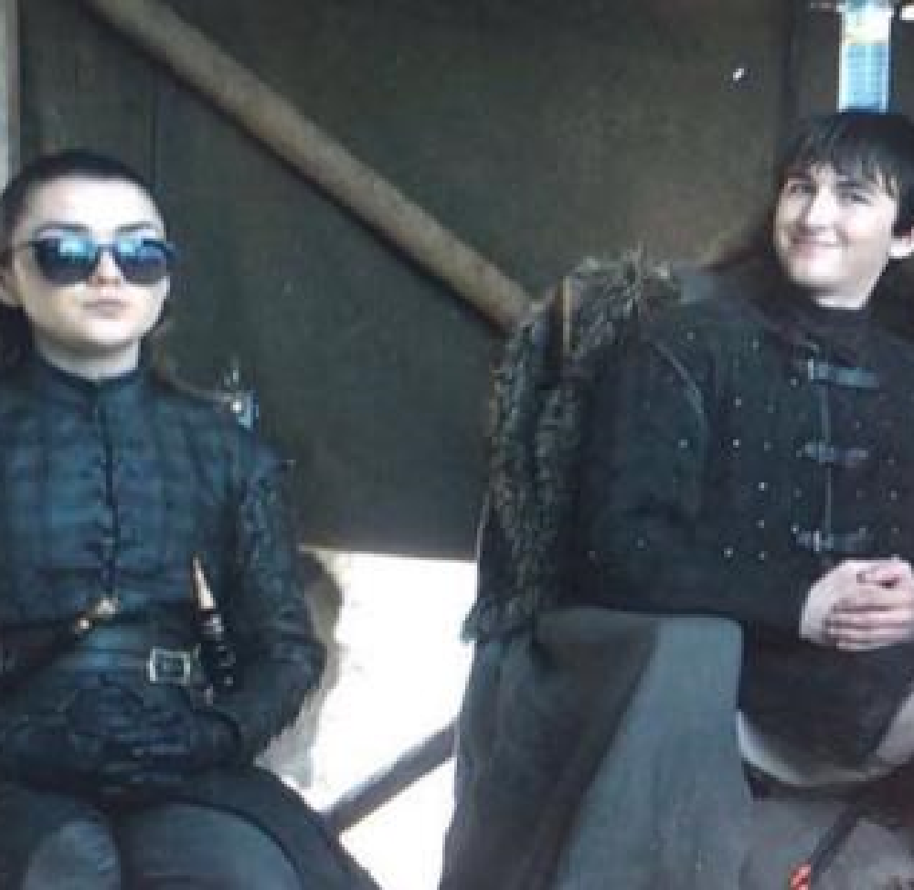Maisie Williams and Isaac Hempstead Wright said THIS about the future of Westeros and their character endings