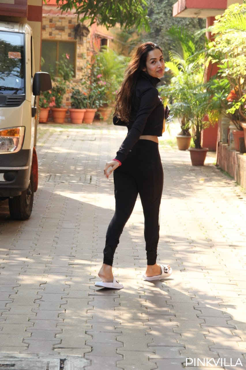 PHOTOS: Malaika Arora doles out Wednesday motivation in an all black look as she hits the gym post her vacay