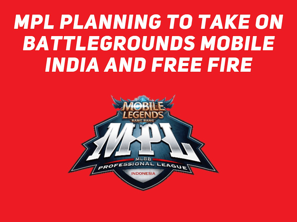 MPL planning to take on Battleground Mobile India and Free Fire
