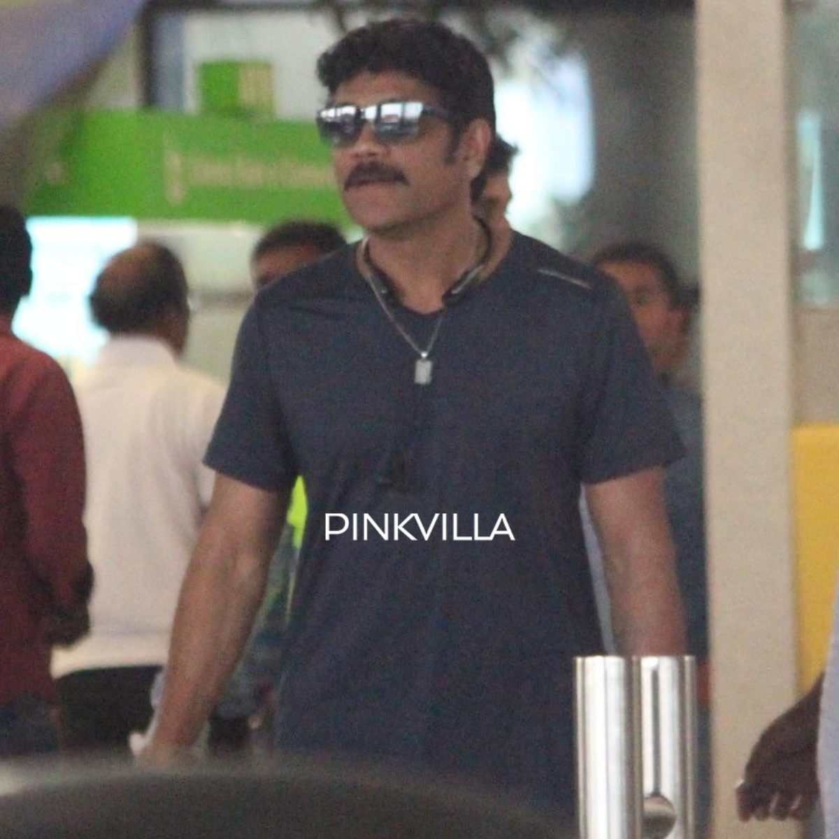 PHOTOS: Nagarjuna Akkineni never fails to makes a stylish appearance at the airport
