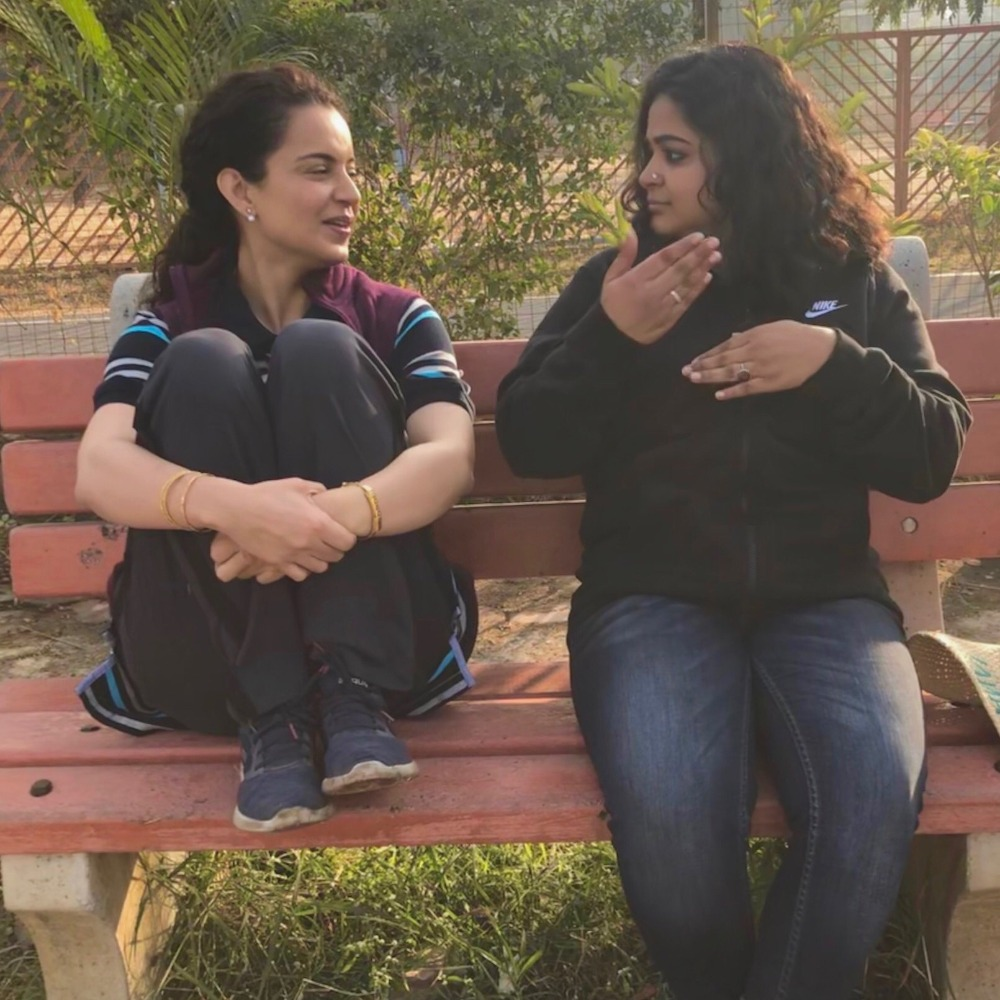 Panga: Kangana Ranaut's BTS pic from the film excites the fans to see her in action mode