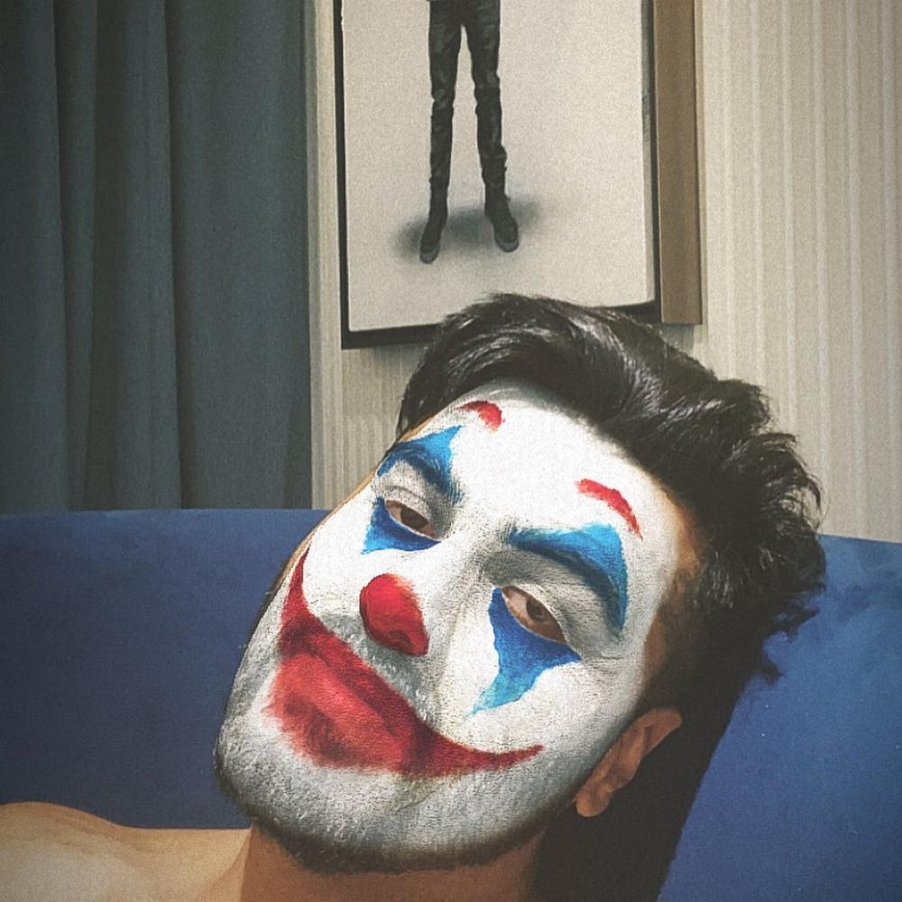 PHOTO: Arjun Kapoor paints his face like The Joker and we are wondering why so serious?