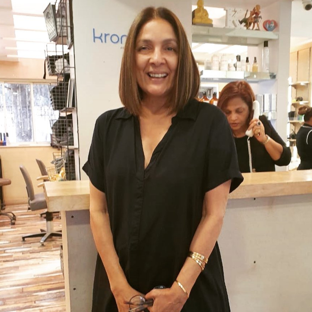PHOTO: Neena Gupta sports a new haircut; asks Google to show her reduced age now