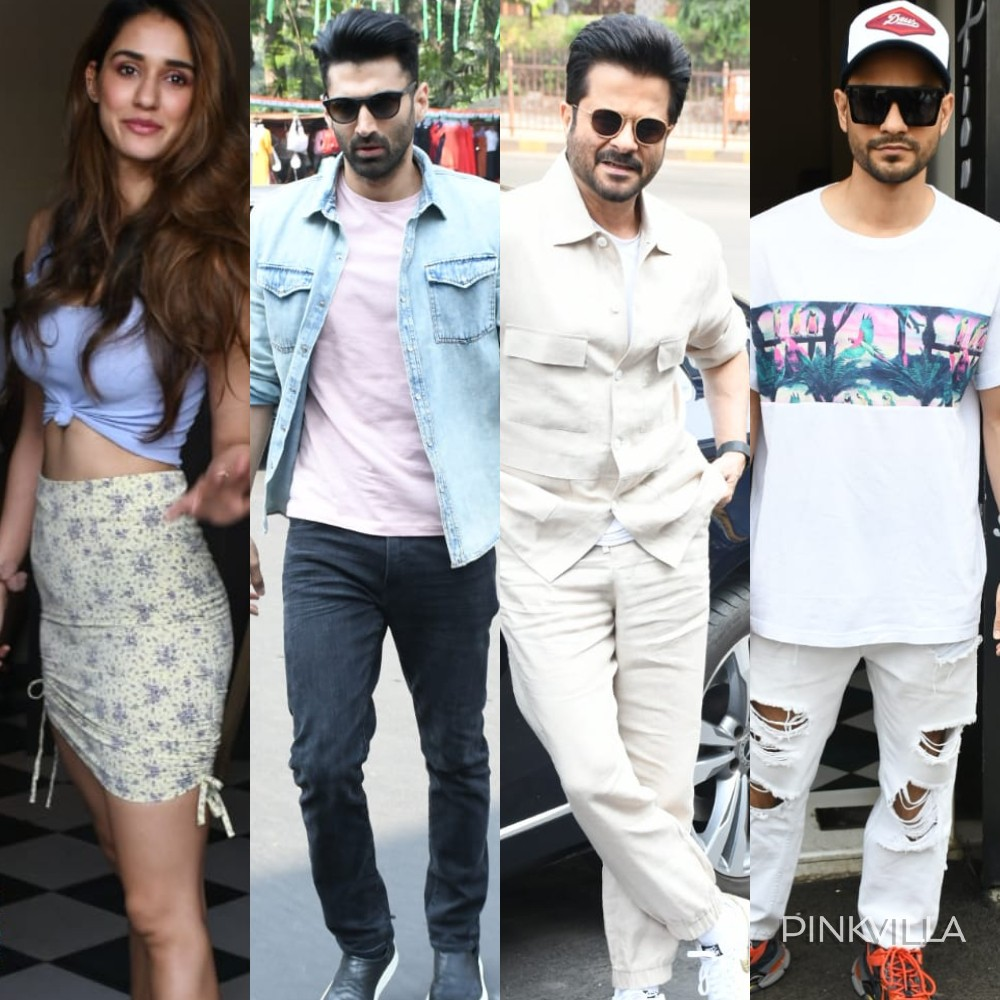 Photos Anil Kapoor Disha Patani Aditya Roy Kapur Kunal Kemmu Have A Malang Reunion In The City Pinkvilla