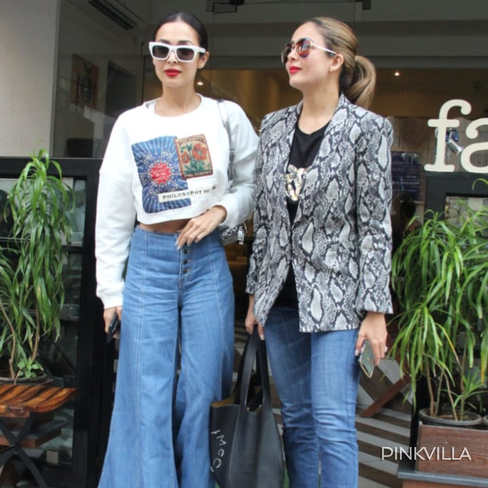 PHOTOS: Not Arjun Kapoor, Malaika Arora steps out for a lunch date with sister Amrita Arora in the city