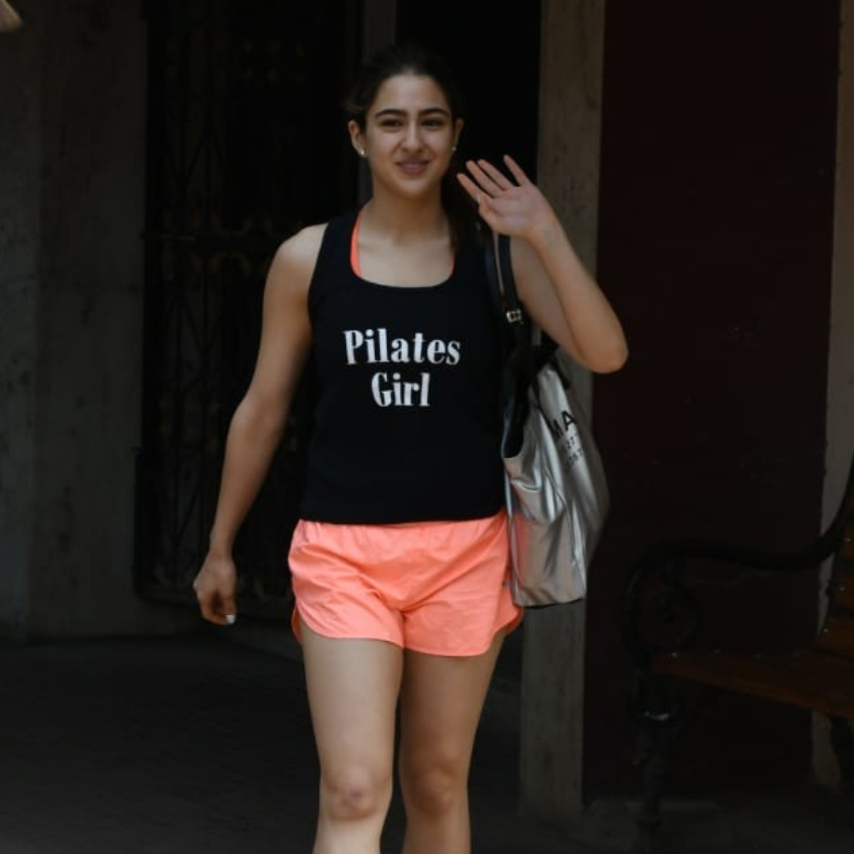 PHOTOS: Sara Ali Khan nails her gym look as she gets spotted after her workout session