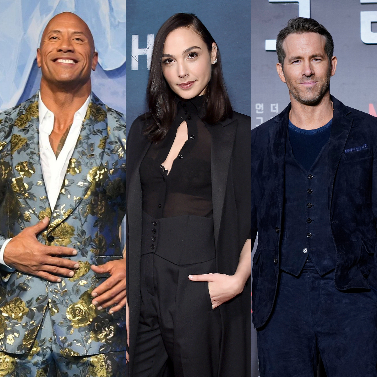 Phtoto: Dwayne Johnson, Ryan Reynolds and Gal Gadot kick start shooting for Red Notice; Check Out