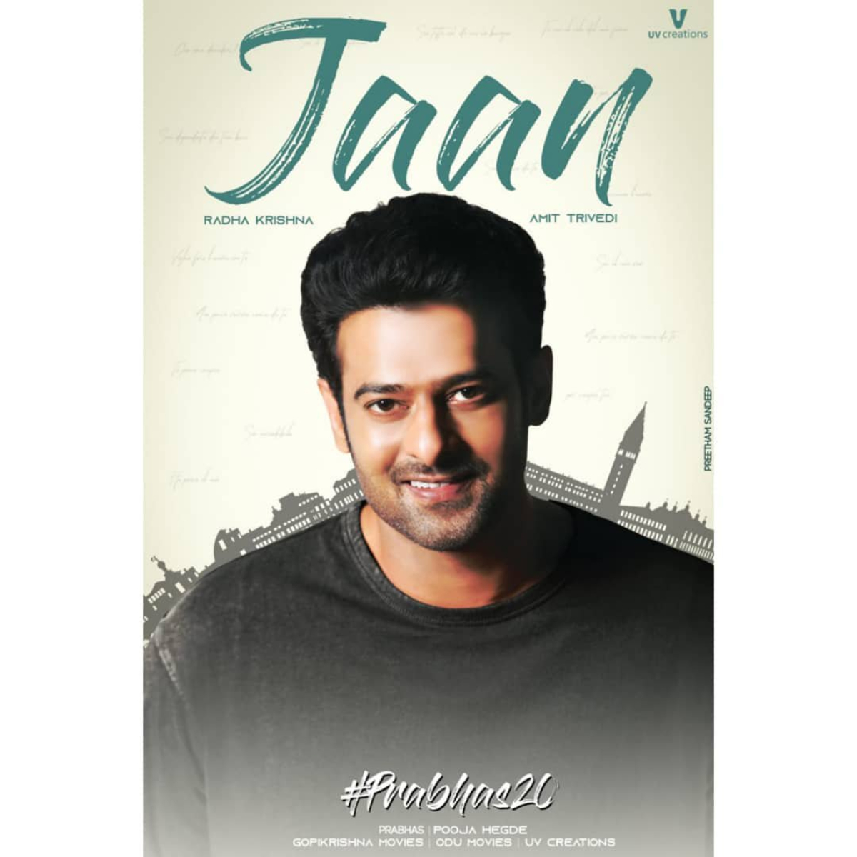 Prabhas's Jaan getting delayed due to this reason?