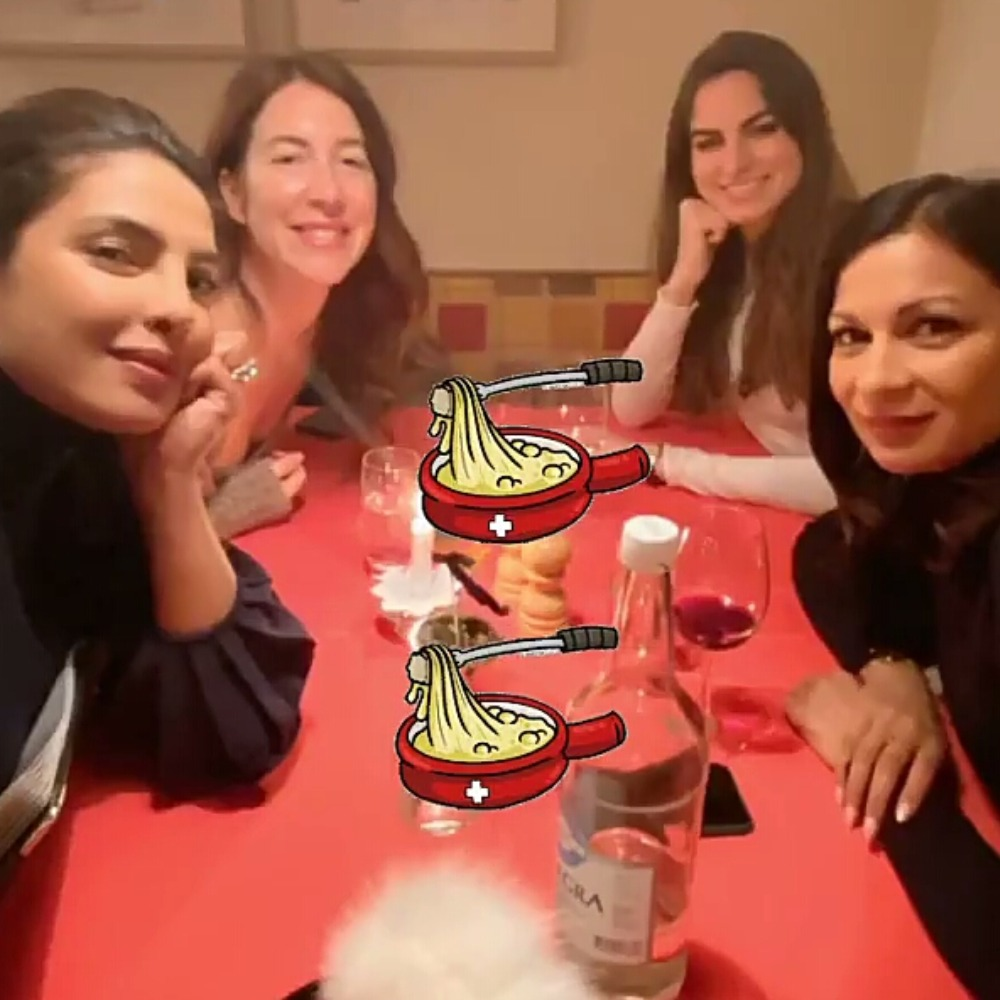 Priyanka Chopra chills with her girl gang in 'winter wonderland' prior to attending the WEF 2020; See Pics