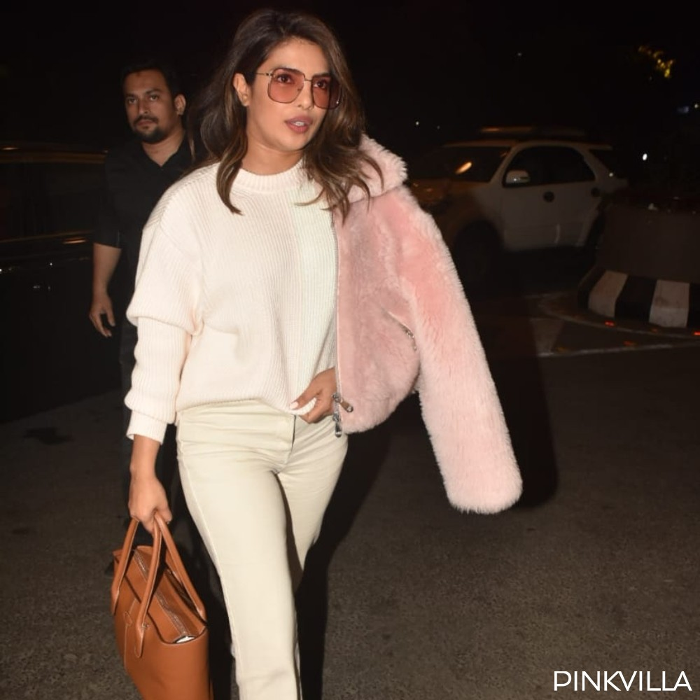 PHOTOS: Priyanka Chopra Jonas looks classy and super stylish as she arrives at the airport