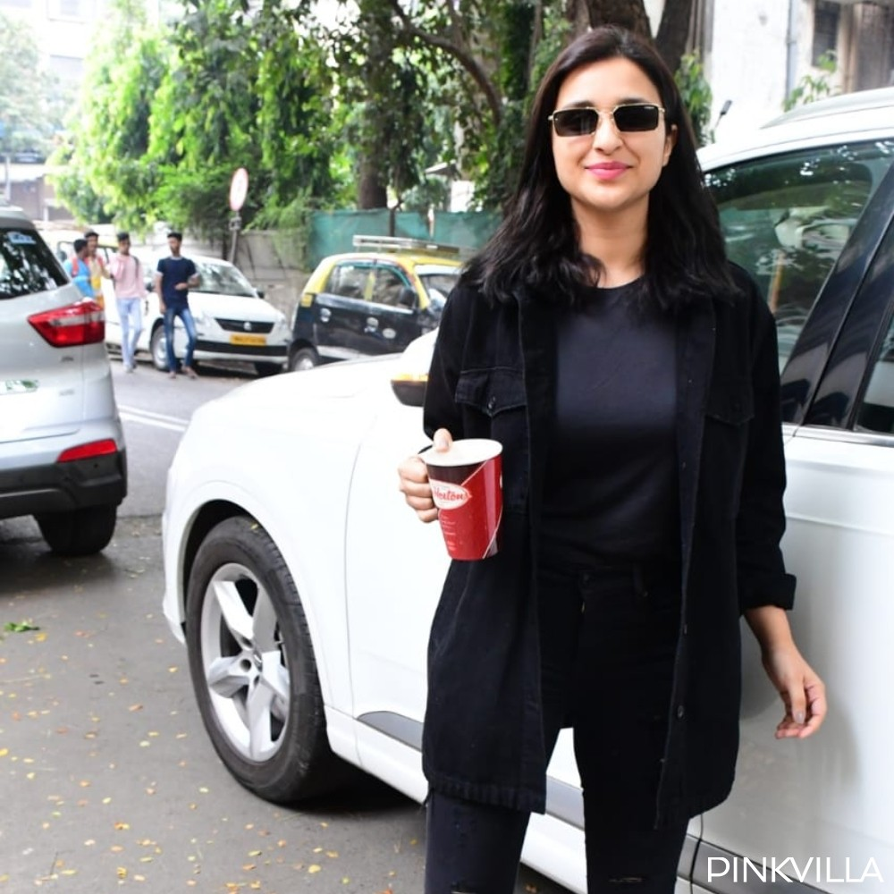 PHOTOS: Parineeti Chopra slays in an all black outfit as she goes out and about in the city