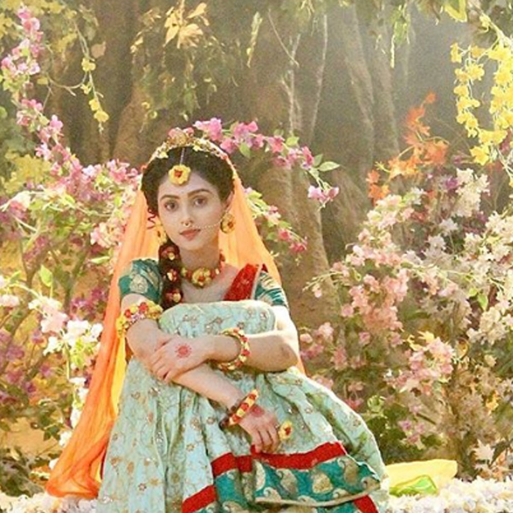 Radhakrishn Producer On Mallika Singh S Exit Rumours She Will Continue To Be Our Radha Till The Show Ends Pinkvilla