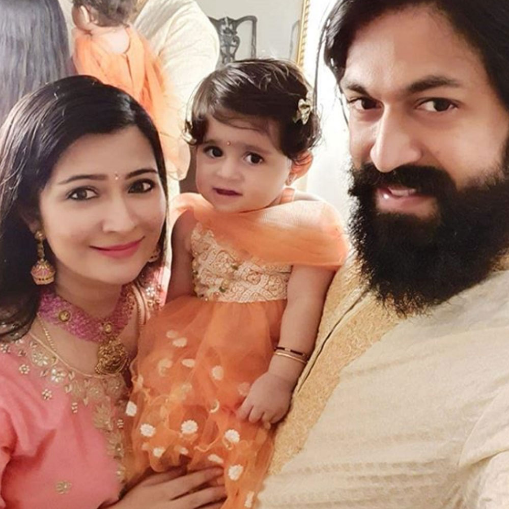 Children's Day 2019: KGF star Yash's wife Radhika Pandit shares an adorable photo of her 'first two kids'