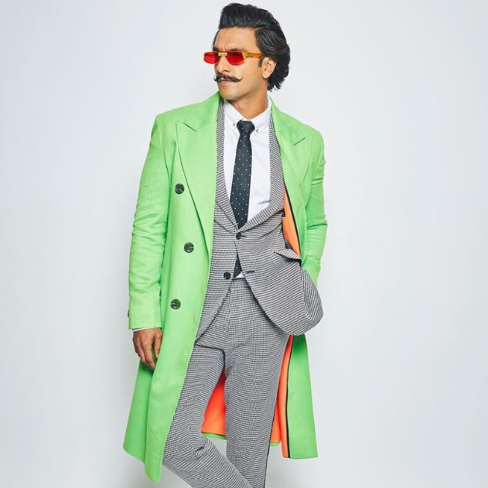 Ranveer Singh gets compared to Joaquin Phoenix's Joker and Michael Jackson for his new look