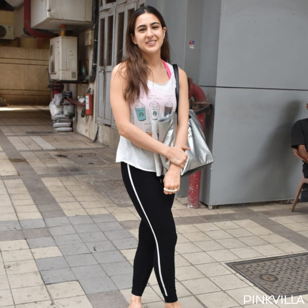PHOTOS: Sara Ali Khan's beautiful smile as she heads to her dance class will brighten up your day