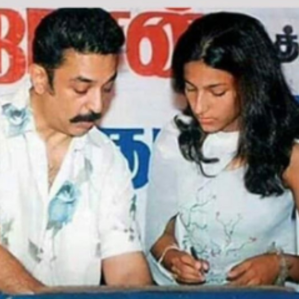 Shruti Haasan shares a throwback PIC with father Kamal Haasan & we are in complete awe of them; check it out