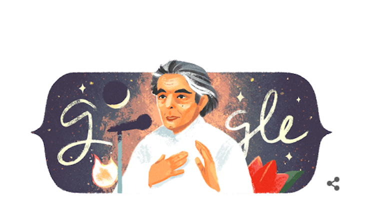 Google Doodle pays tribute to late Urdu poet Kaifi Azmi; Check it out