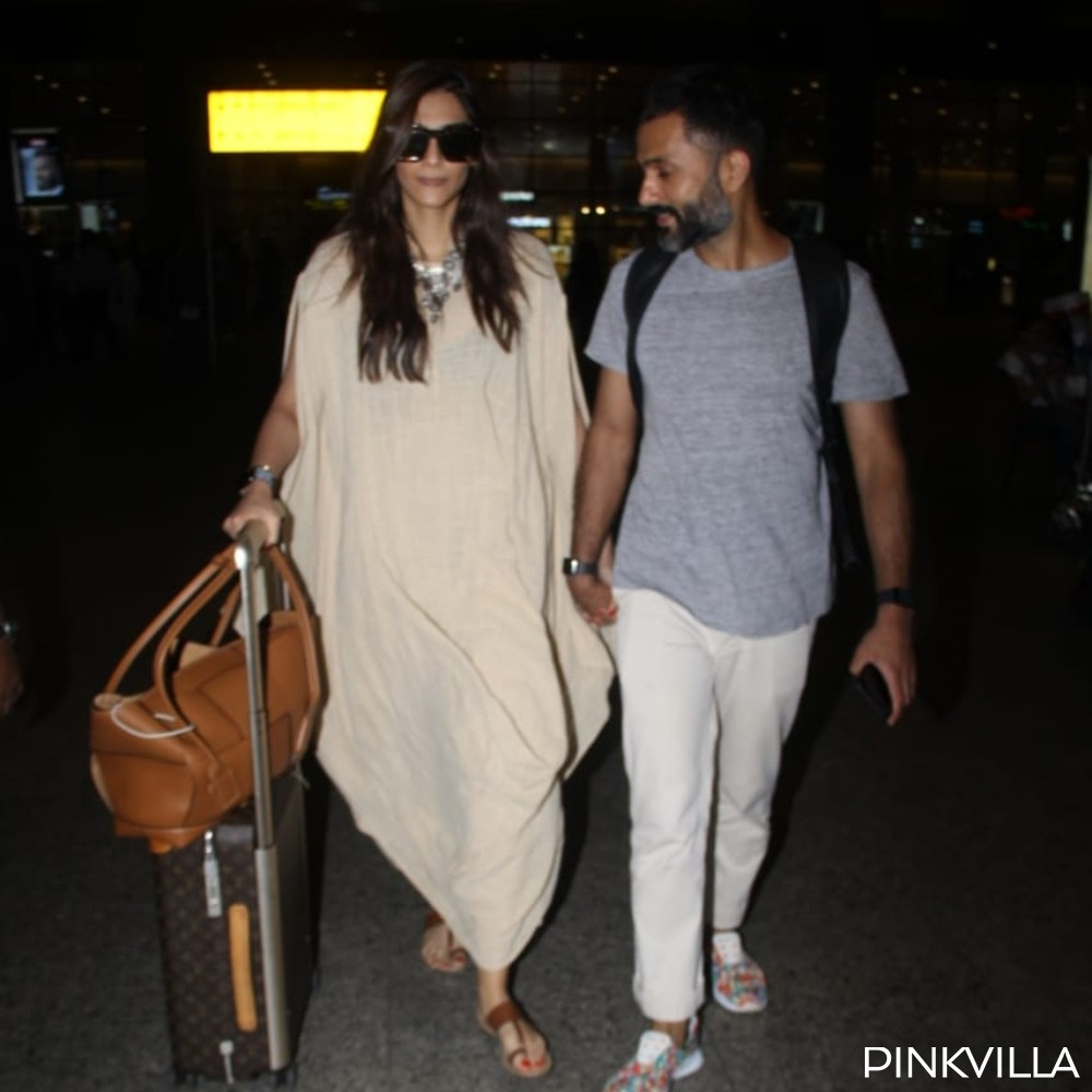 PHOTOS: Sonam Kapoor and Anand Ahuja return to the bay post their vacay in Maldives