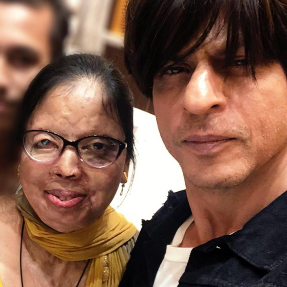 Shah Rukh Khan's sweet wish for an acid attack survivor who got married is winning the internet; Check it out