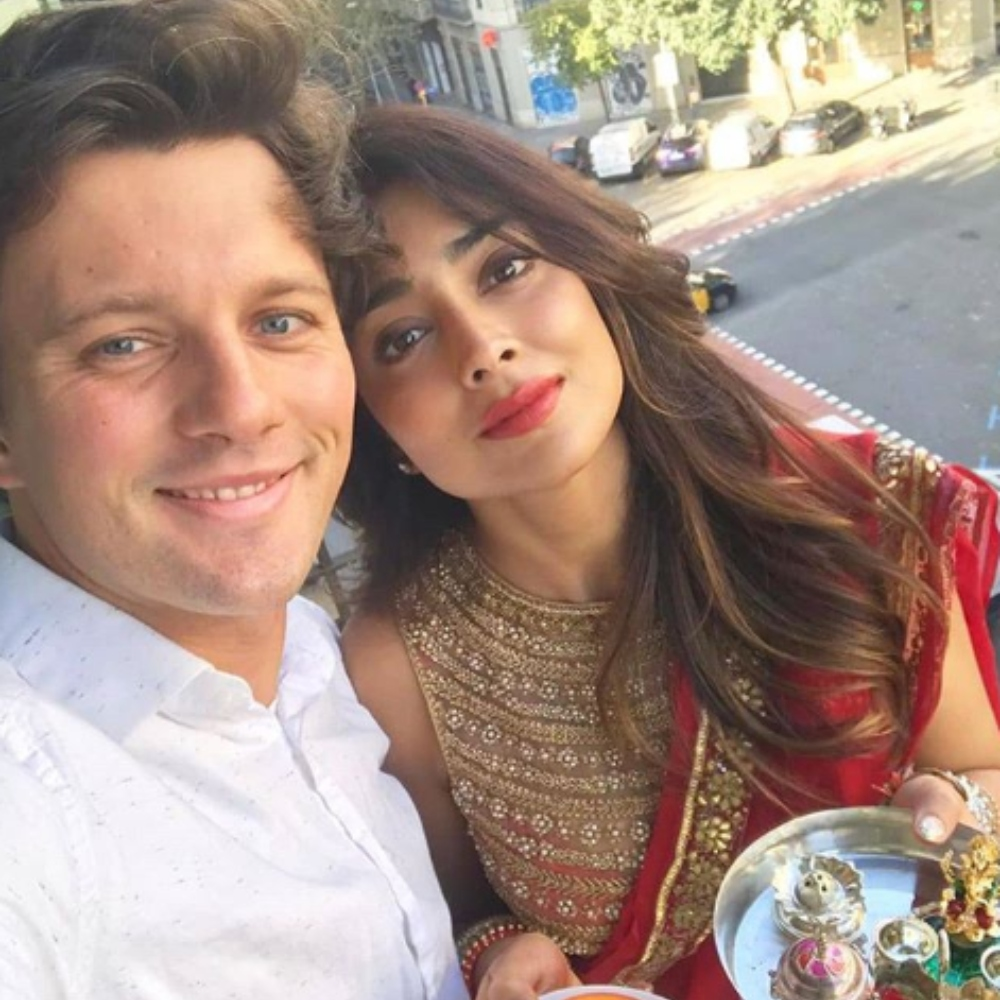 Karwa Chauth 2019: Shriya Saran shares adorable PICS with husband Andrei Koscheev on the special occasion