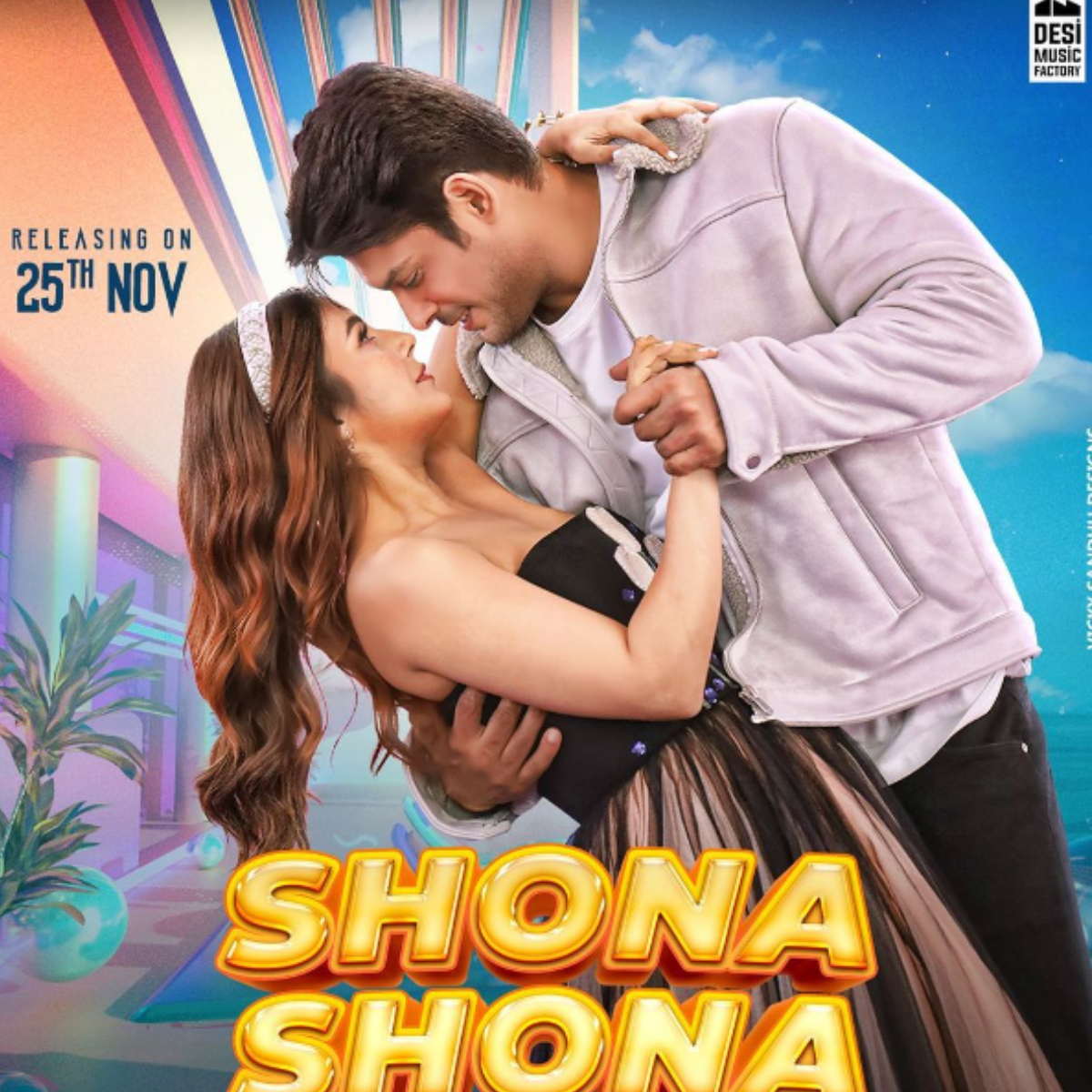 Sidharth Shukla reveals poster of his upcoming song with Shehnaaz Gill