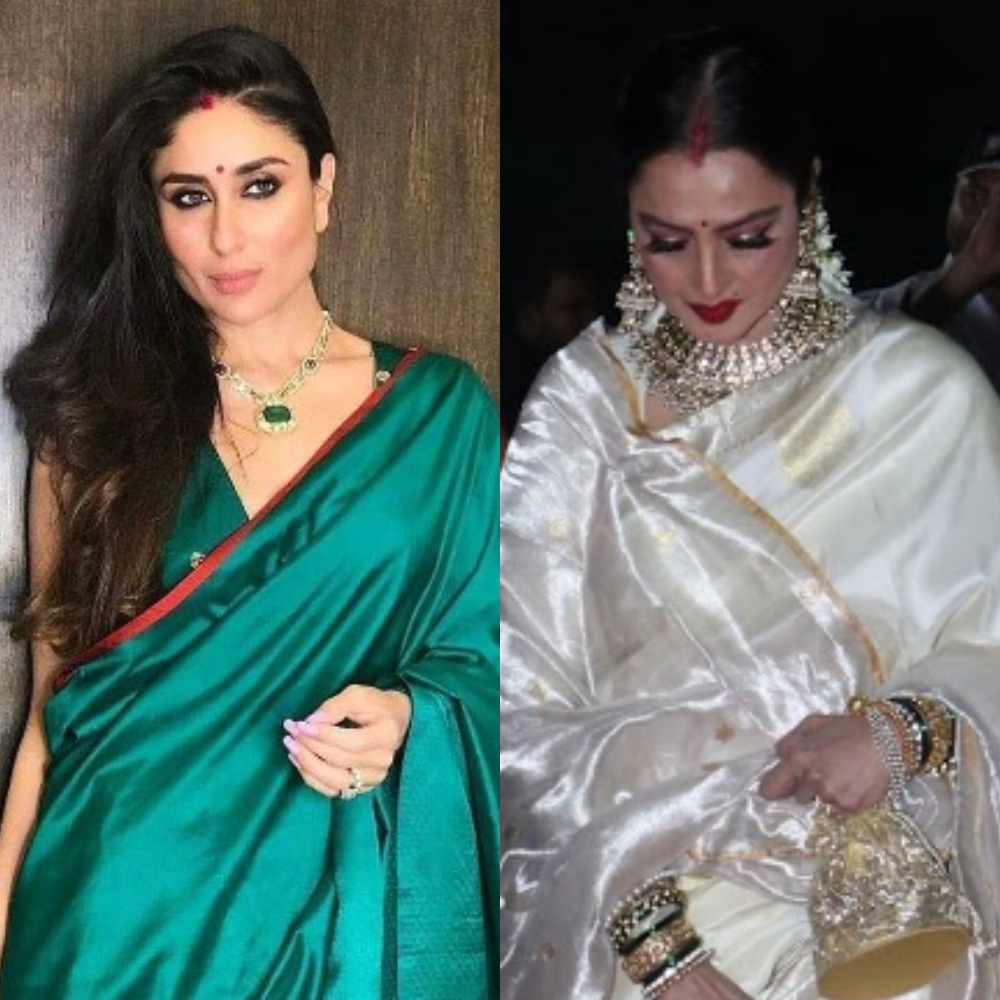 Karwa Chauth special: From Kareena Kapoor Khan to Rekha, these Bollywood beauties love to flaunt their sindoor