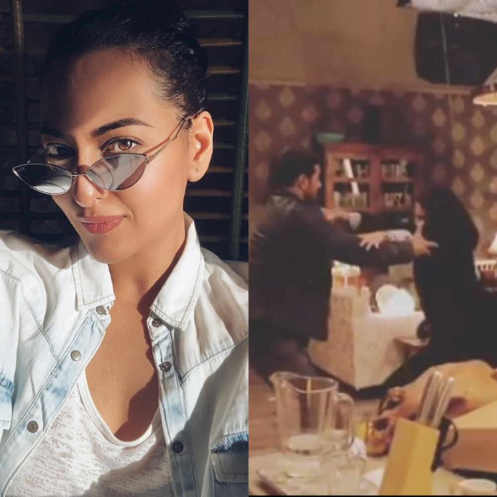 Sonakshi Sinha hints at considering an action flick by sharing a BTS video from Force 2; Check it out