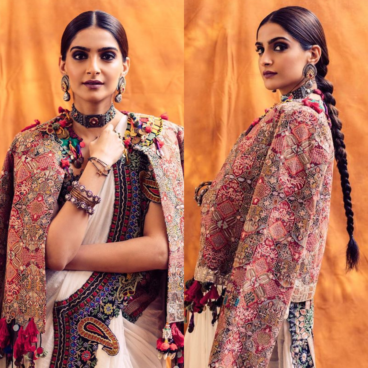 Sonam Kapoor's modern take on the traditional saree is perfect for you to rock this festive season
