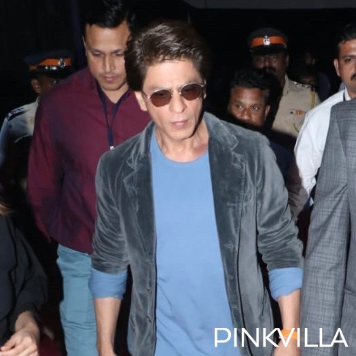 Umang 2020: Shah Rukh Khan looks stylish in a casual look as he arrives at the event