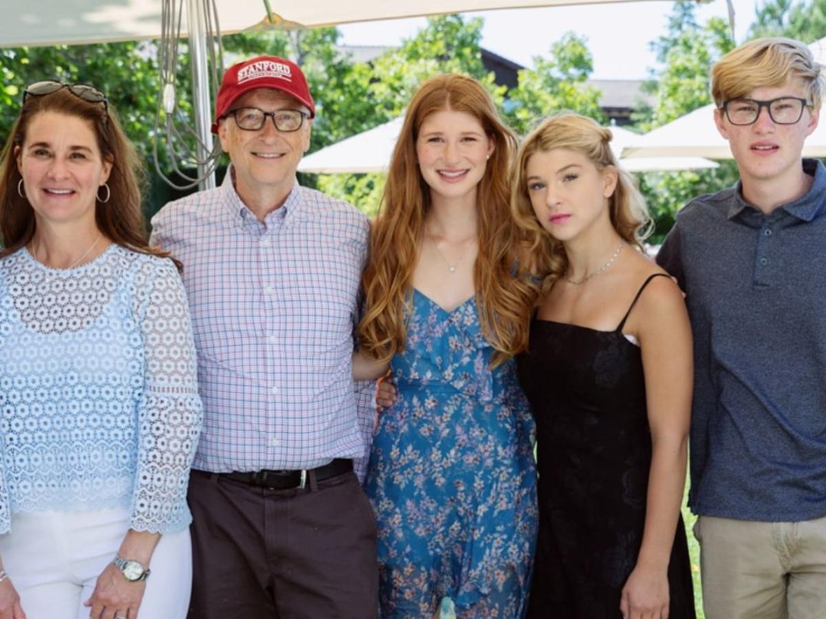 Here's why Bill Gates doesn't want his 3 kids with Melinda Gates to inherit  billions of family fortune | PINKVILLA