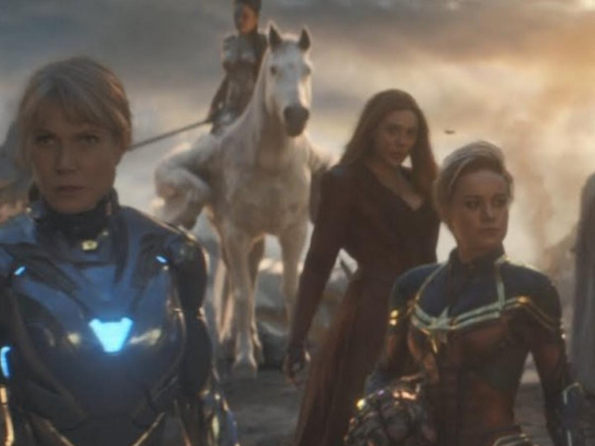 Brie Larson's Captain Marvel replaced as the leader of all female ...