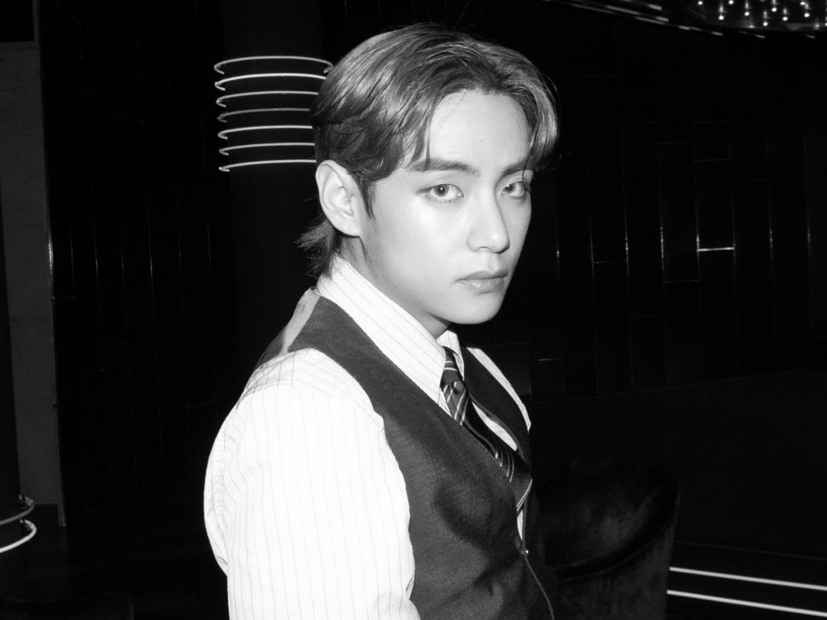 bts v is dripping in gucci finesse as he shares bewitching black and white snaps from dynamite mv shoot pinkvilla bts v is dripping in gucci finesse as