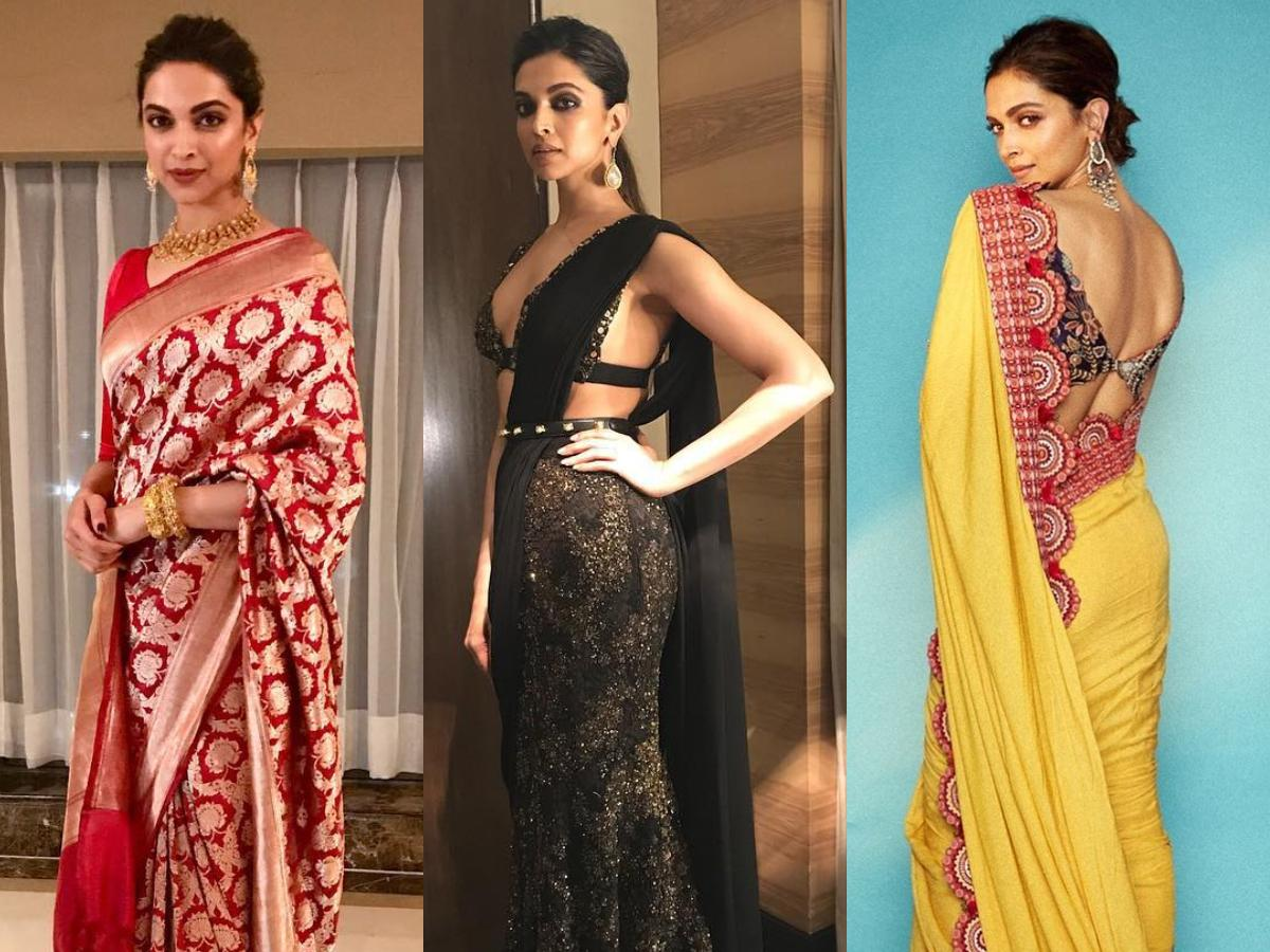Deepika Padukone's love for sarees is limitless: ALL the times she proved nobody looks as good in the drape | PINKVILLA