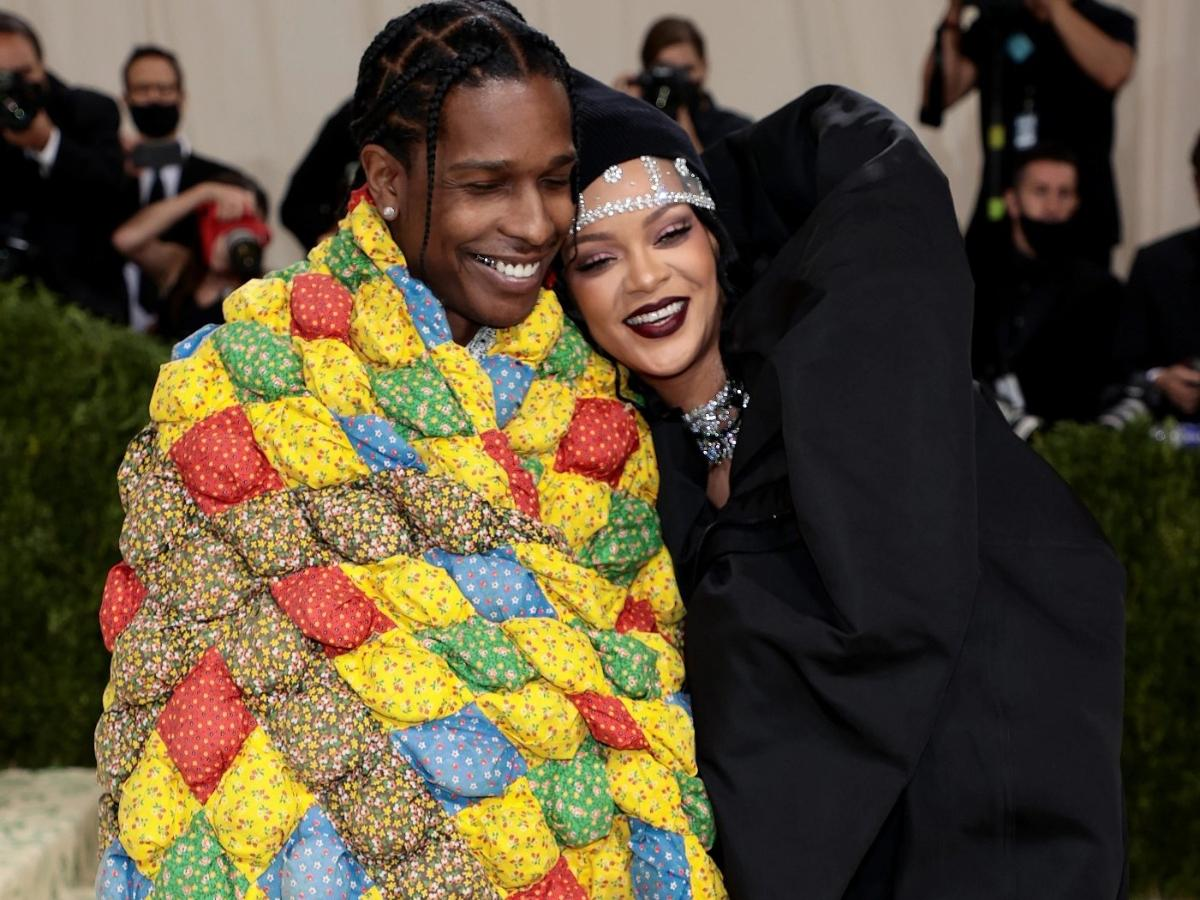 Met Gala 2021: Rihanna and ASAP Rocky make a late but memorable arrival in stunning red carpet debut | PINKVILLA