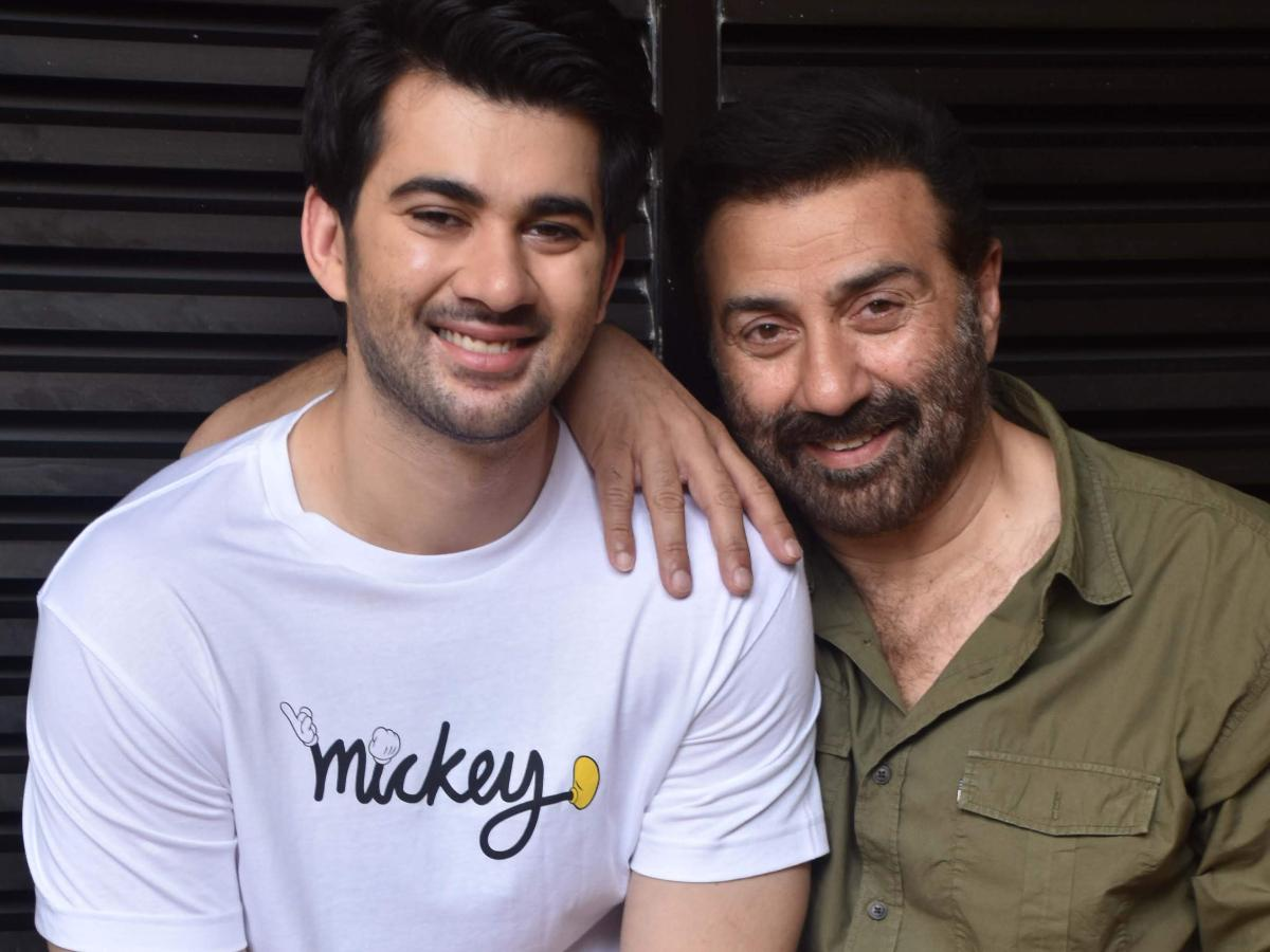 Sunny Deol and wife Pooja Deol's RARE family photo surfaces as they pose  with sons Rajvir and Karan Deol   PINKVILLA