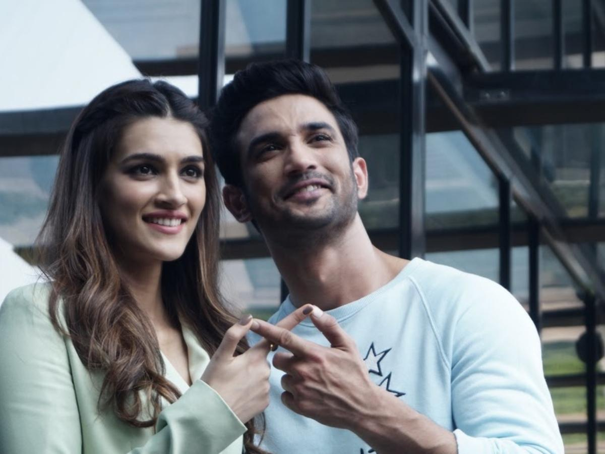 Throwback Tuesday When Kriti Sanon Revealed What She And Sushant Singh Rajput Bonded Over During Raabta Shoot Pinkvilla