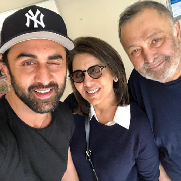 Ranbir Kapoor has shouldered all my problems: Rishi Kapoor as he says he is cancer free