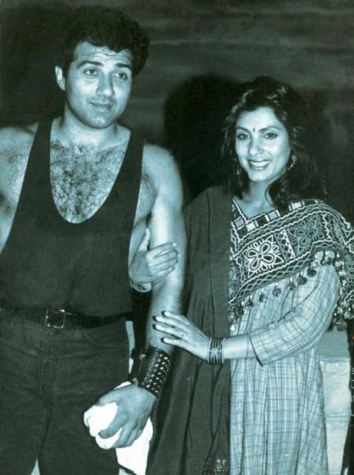 Sunny Deol and Dimple Kapadia's love affair: All you need to know about the  couple | PINKVILLA